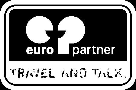 Logo europartner Sprachreisen, Kunde der PMR Werbeagentur aus Rietberg (Kreis Gütersloh).