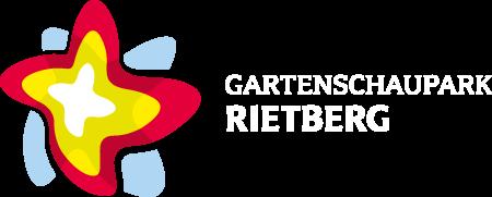 PMR Werbeagenture Rietberg Gartenschaupark Rietberg Corporate Design Logo weiss